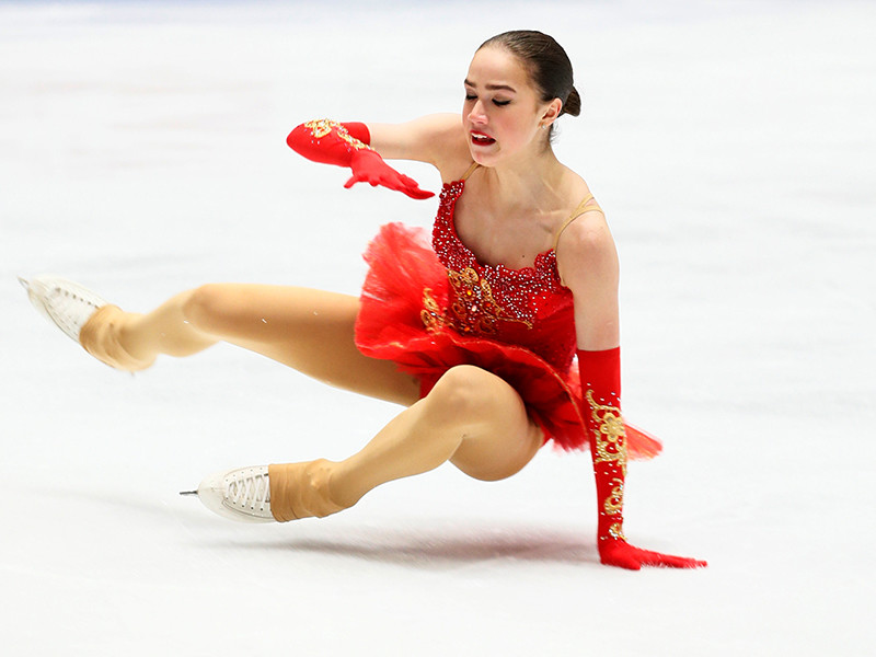 Загитова трижды упала в произвольной программе и осталась без медали чемпионата мира