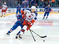 ЦСКА одолел СКА в первом раунде армейского дерби Континентальной хоккейной лиги