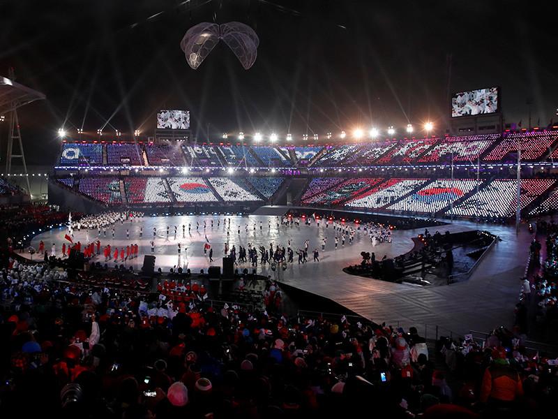 На Олимпийском стадионе Пхенчхана в пятницу прошла торжественная церемония открытия XII зимних Паралимпийских игр