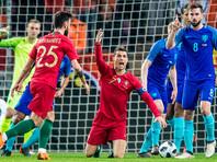 Голландские футболисты крупно обыграли португальцев в товарищеском матче