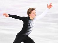 Россиянин Михаил Коляда занимает промежуточное второе место после короткой программы в соревнованиях одиночников на чемпионате мира по фигурному катанию