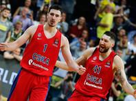 Баскетболисты ЦСКА в гостях одолели действующего чемпиона Евролиги