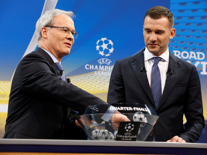 Турнирные пути прошлогодних финалистов Лиги чемпионов пересекутся в 1/4 финала