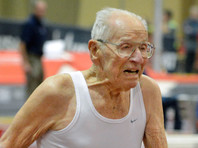 Столетние легкоатлеты установили два рекорда в спринте (ВИДЕО)