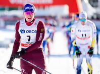 Лыжник Александр Большунов победил на этапе Кубка мира