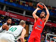 ЦСКА сделал еще один шаг для победы в регулярном чемпионате баскетбольной Евролиги