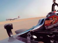 """Болид """"Формулы Е"""" проиграл соревнования пассажирским самолетам (ВИДЕО)"""