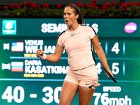 Дарья Касаткина победила Винус Вильямс и стала финалисткой престижного турнира