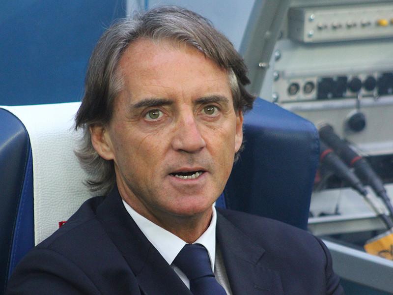 Роберто Манчини прилетел в Рим поговорить о работе в сборной Италии