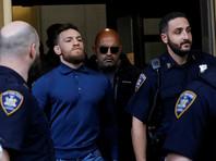 Макгрегора отпустили под залог в 50 тысяч долларов, у суда Нью-Йорка есть новый видеоряд нападения на автобус (ВИДЕО)