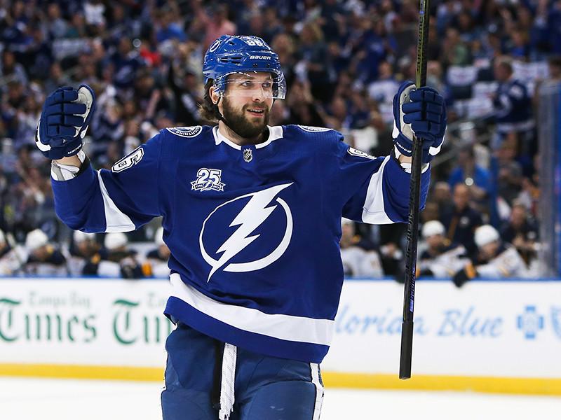 Кучеров - шестой российский хоккеист в НХЛ, добравшийся до отметки в 100 очков за сезон