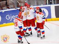 Хоккеисты олимпийской сборной РФ повторно обыграли норвежцев