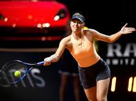 Мария Шарапова вылетела в первом круге с третьего турнира подряд
