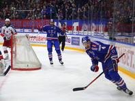 СКА, обыграв на своем льду ЦСКА, сравнял счет в полуфинальной серии Кубка Гагарина