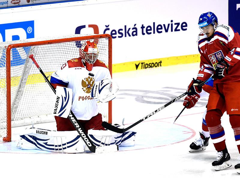 Хоккеисты сборной России проиграли третий матч подряд при новом тренере