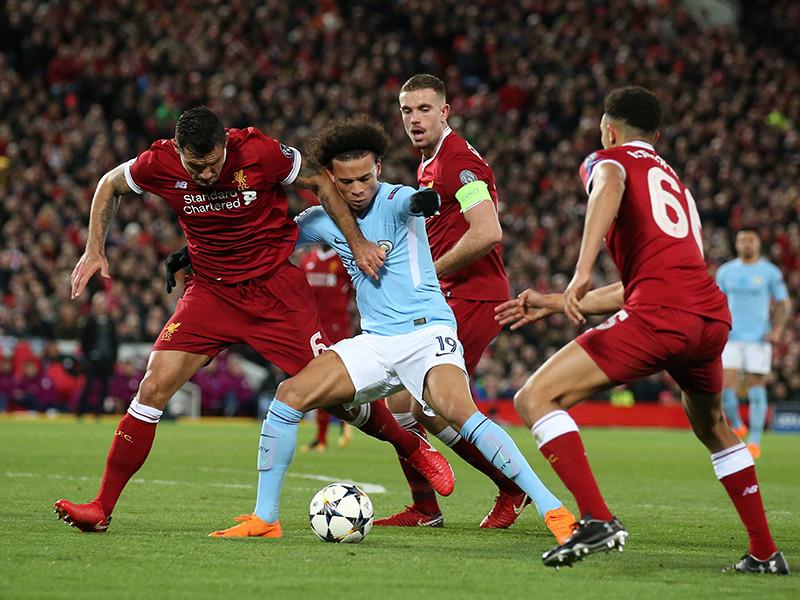 """""""Ливерпуль"""" на арене """"Энфилд"""" со счетом 3:0 уверенно переиграл """"Манчестер Сити"""""""