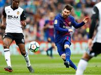 """Нападающий каталонской """"Барселоны"""" и сборной Аргентины по футболу Лионель Месси стал самым высокооплачиваемым футболистом в нынешнем сезоне"""