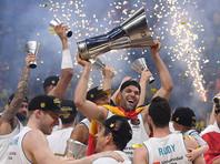 """Мадридский """"Реал"""" в рекордный десятый раз выиграл баскетбольную Евролигу"""