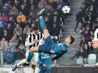 Бисиклета Криштиану Роналду признана лучшим голом сезона в Лиге чемпионов