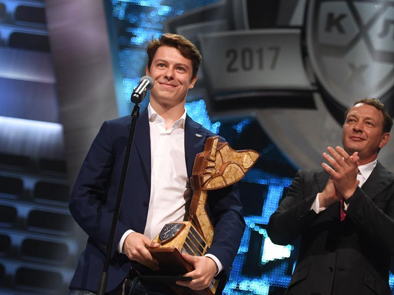 Самым ценным игроком Континентальной хоккейной лиги объявлен Никита Гусев