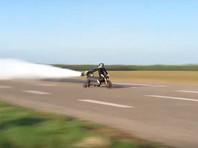 Французский экстремал погиб, готовясь к мировому рекорду скорости на велосипеде