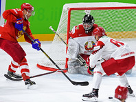 Российские хоккеисты разгромили белорусов на чемпионате мира по хоккею