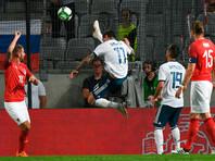Российские футболисты проиграли австрийцам в предпоследнем контрольном матче перед ЧМ-2018