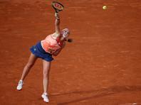 Действующая чемпионка Roland Garros Елена Остапенко вылетела в первом же круге
