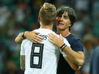 ЧМ-2018: Германия вырвала победу у Швеции, заканчивая матч в меньшинстве