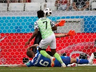 ЧМ-2018: Нигерия победила Исландию благодаря дублю Ахмеда Мусы