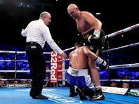 Тайсон Фьюри вернулся на ринг и избил боксера из другой весовой категории