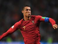 Роналду в матче с испанцами развил рекордную скорость в истории футбола