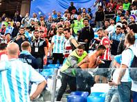 Аргентина просит Россию депортировать своих болельщиков, устроивших драку в Нижнем Новгороде