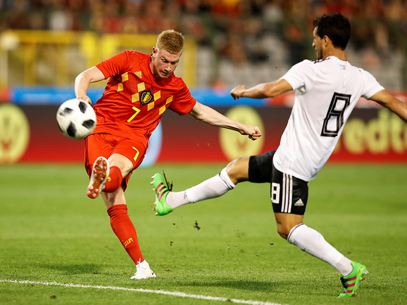 Сборная Бельгии по футболу уверенно обыграла команду Египта в товарищеском матче в рамках подготовки к чемпионату мира 2018 года