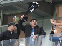 ФИФА платит Диего Марадоне по 10 тысяч фунтов за посещение матчей ЧМ-2018
