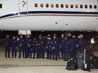 Сборная Бразилии по футболу прибыла в Россию для участия в ЧМ-2018