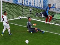 ЧМ-2018: Франция победой над Перу обеспечила себе выход в плей-офф мундиаля