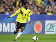 Колумбийскому футболисту на родине угрожают расправой за игру рукой в матче ЧМ-2018