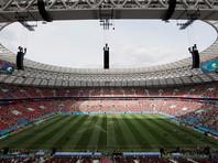 """Стадион """"Лужники"""" перед матчем открытия ЧМ-2018"""