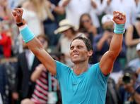 Надаль одиннадцатый раз стал победителем Rolland Garros