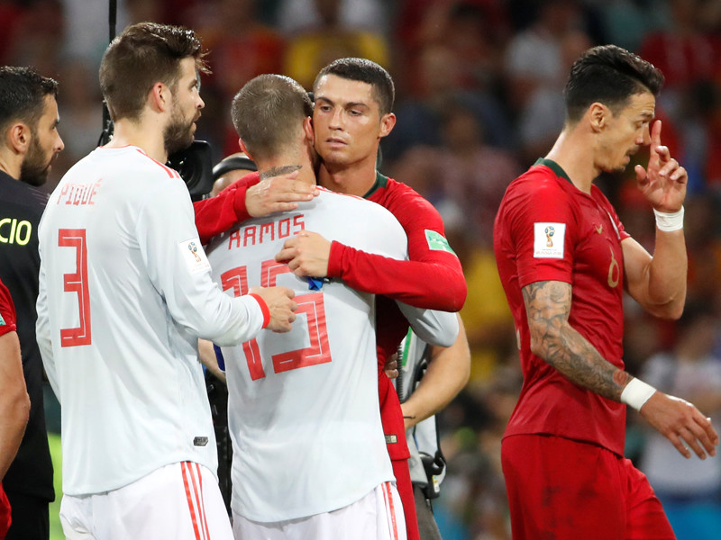 ЧМ-2018: Португалия не проиграла Испании благодаря хет-трику Криштиану Роналду