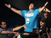 Марадона опроверг слухи о госпитализации после матча в Санкт-Петербурге
