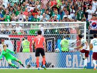 ЧМ-2018: Мексика победила Южную Корею и практически гарантировала себе участие в плей-офф