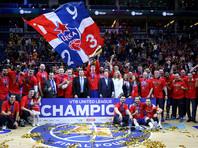 Баскетболисты ЦСКА выиграли девятый сезон Единой лиги ВТБ из десяти