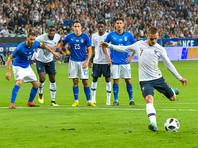 Сборная Франции победила Италию в товарищеском матче