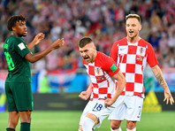 ЧМ-2018: Хорватия единолично возглавила группу после победы над нигерийцами