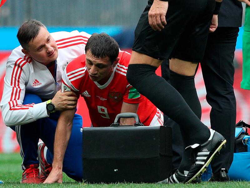 Медицинское обследование Алана Дзагоева выявило повреждение мышц бедра