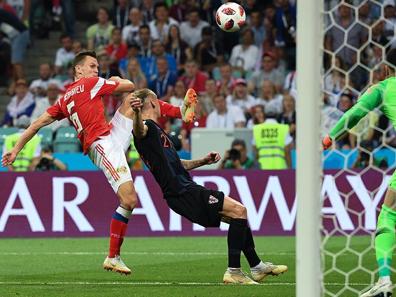 Три гола игроков сборной РФ претендуют название лучшего наЧМ
