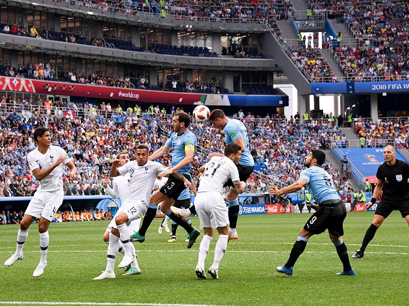 Франция обыграла Уругвай и стала первым полуфиналистом мундиаля