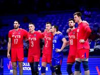 Российские волейболисты победили бразильцев и сыграют в финале Лиги наций